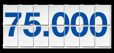 75000blaetter