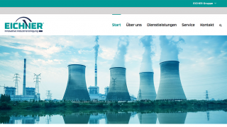 EICHNER Innovative Industriereinigung Webseite Responsive Design